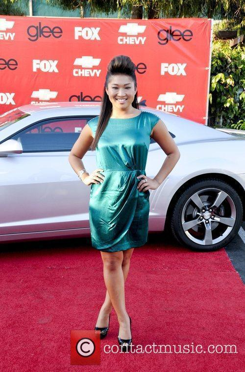 Attends the premiere of Fox's 'Glee' at Willows...