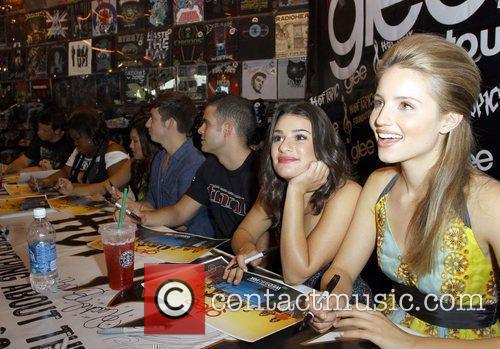 'Glee' Cast including Dianna Agron and Lea Michele...