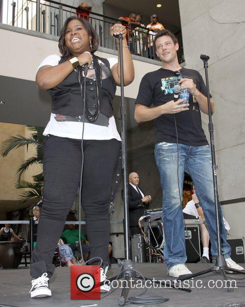 Amber Riley, Cory Monteith 'The Gleek Tour' featuring...