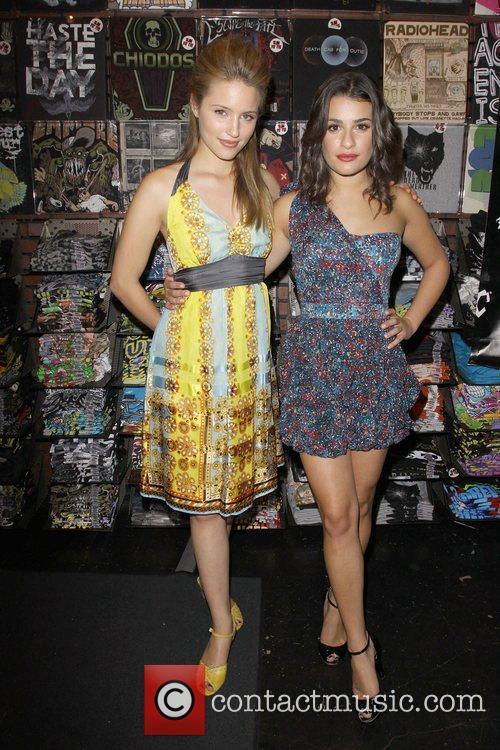 Dianna Agron and Lea Michele 'The Gleek Tour'...