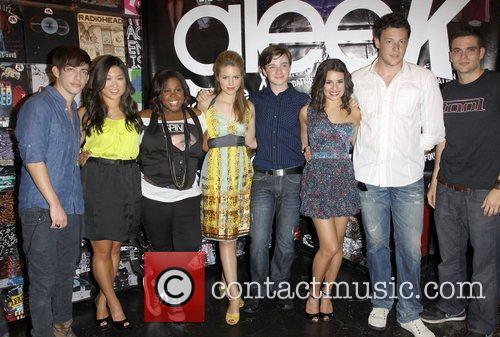 Kevin McHale, Jenna Ushkowitz, Amber Riley, Dianna Agron,...