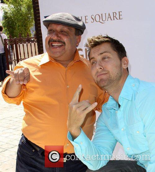Chuy Bravo and Lance Bass The 8th Annual...