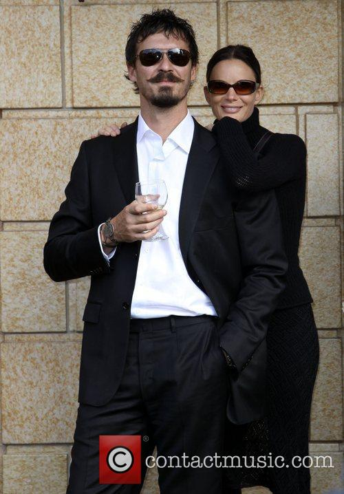 Gabrielle Anwar and her boyfriend The 8th Annual...