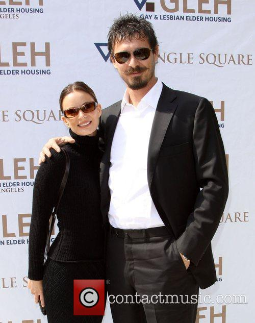 Gabrielle Anwar and Her Boyfriend 8