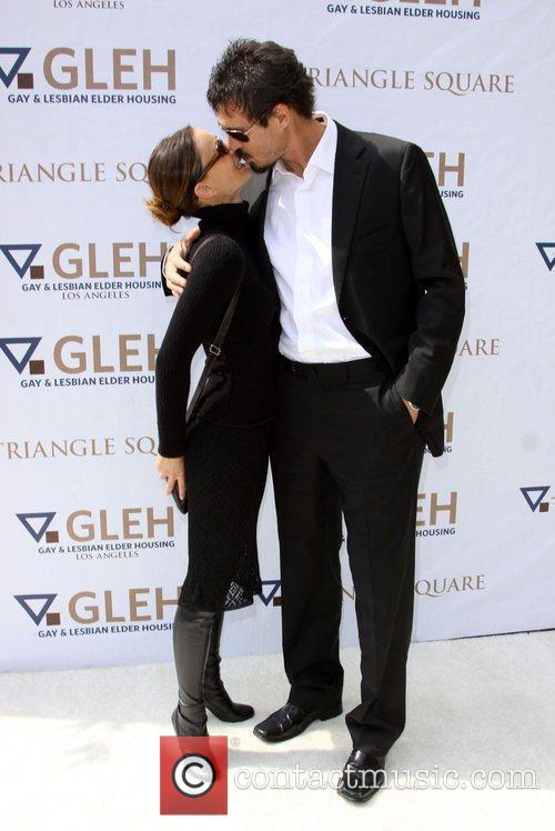 Gabrielle Anwar and Her Boyfriend 1