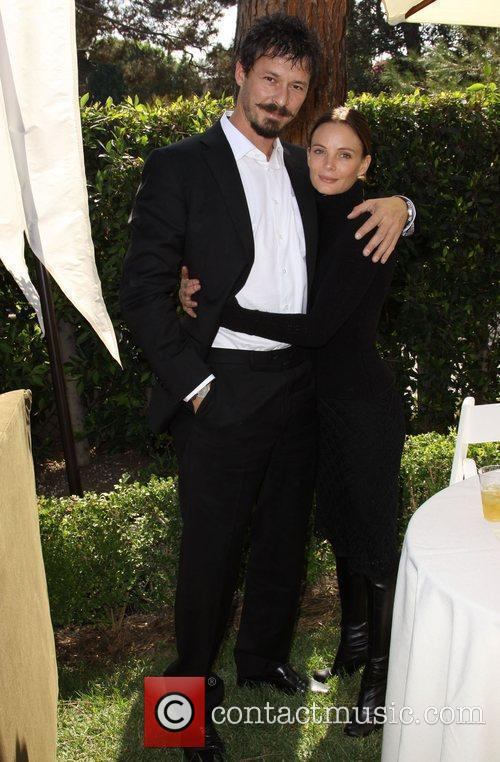 Gabrielle Anwar and Her Boyfriend 10