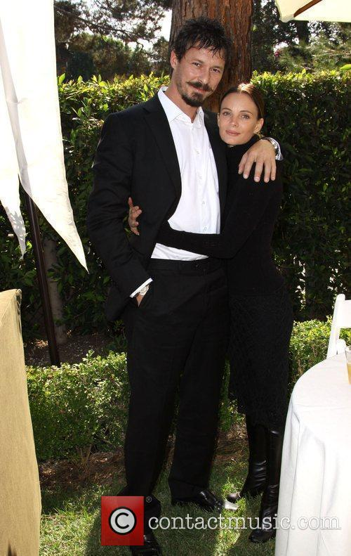 Gabrielle Anwar and Her Boyfriend 11