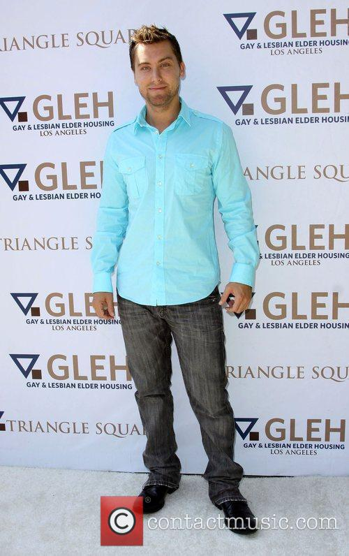 Lance Bass The 8th Annual GLEH Garden Party...