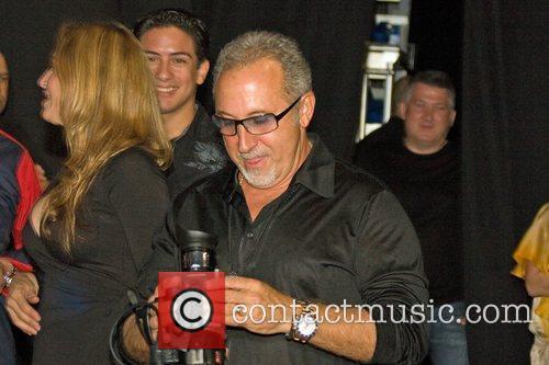 Emilio Estefan Jr. attends his wife Gloria Estefan's...