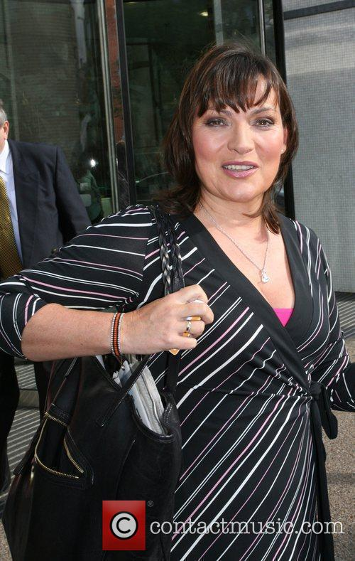 Lorraine Kelly at the GMTV studios London, England