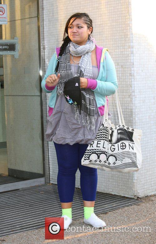 'X Factor' finalist Graziella Affinita of Miss Frank...
