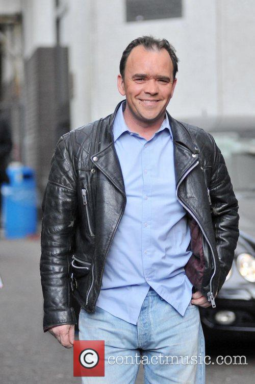 Todd Carty Leaving the London studios after appearing...