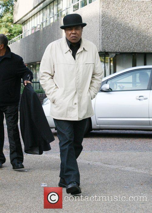 Tito Jackson outside the 'GMTV' studios London, England