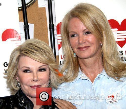 Joan Rivers and Blaine Trump 5