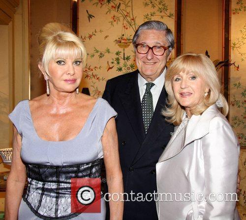 Ivana Trump, Guest and Liz Brewer