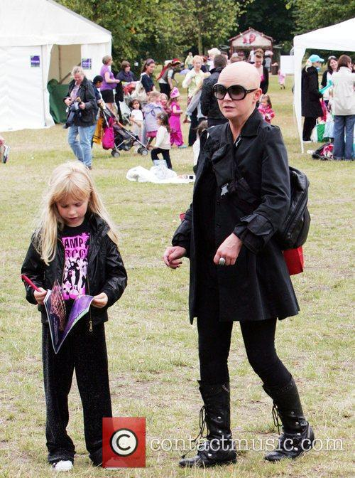 Gail Porter and Honey Hipgrave at the Great...
