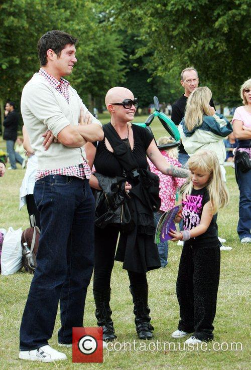 Vernon Kay, Gail Porter and Peter Pan 2