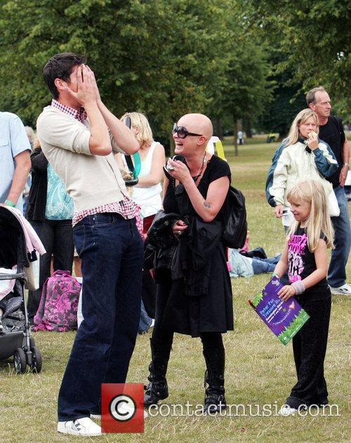 Vernon Kay, Gail Porter and Peter Pan 1