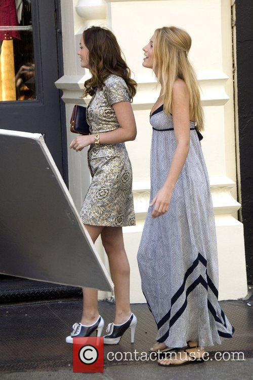 Leighton Meester and Blake Lively 4