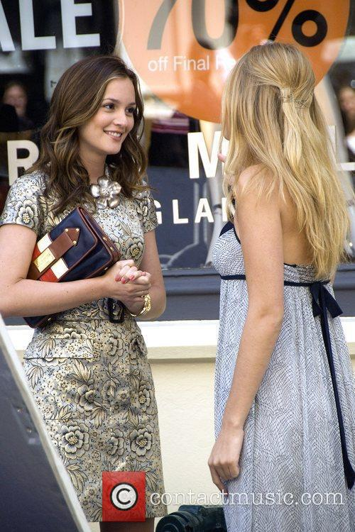 Leighton Meester and Blake Lively 2