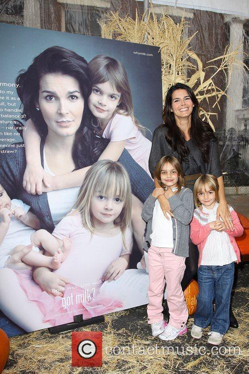 Angie Harmon, Kids, Finley Faith Sehorn and Avery Grace Sehorn 2