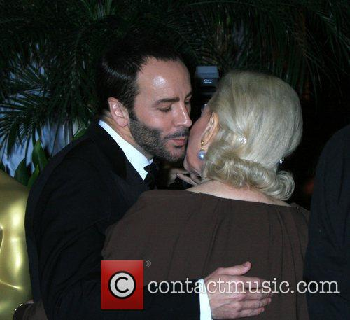 Tom Ford and Lauren Bacall 3
