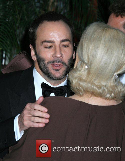 Tom Ford and Lauren Bacall 7