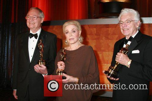 Roger Corman, Lauren Bacall and Gordon Willis Academy...