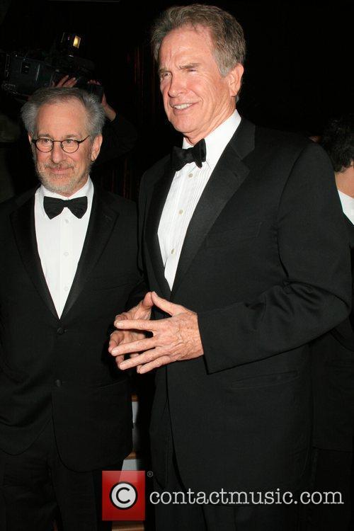 Steven Spielberg and Warren Beatty 1