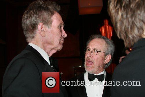 Steven Spielberg and Warren Beatty Academy Of Motion...