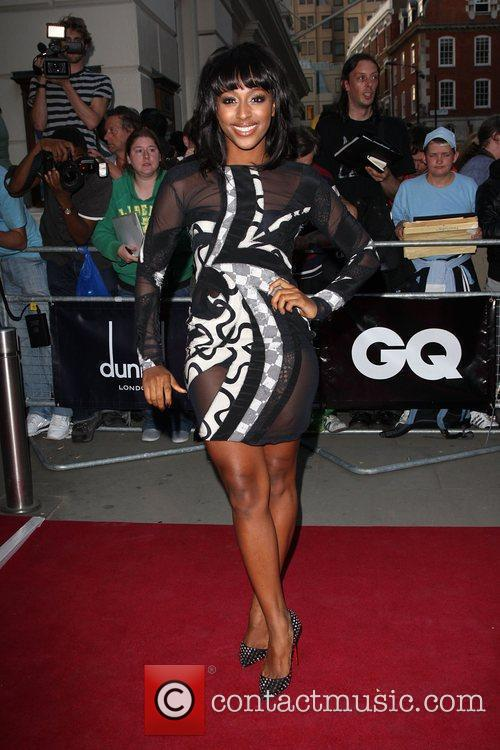 Alexandra Burke GQ Men Of The Year Awards...
