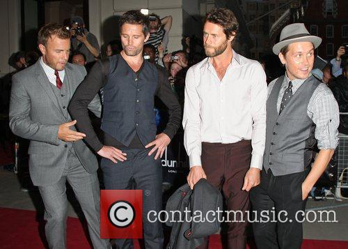 Gary Barlow, Jason Orange, Howard Donald and Mark Owen
