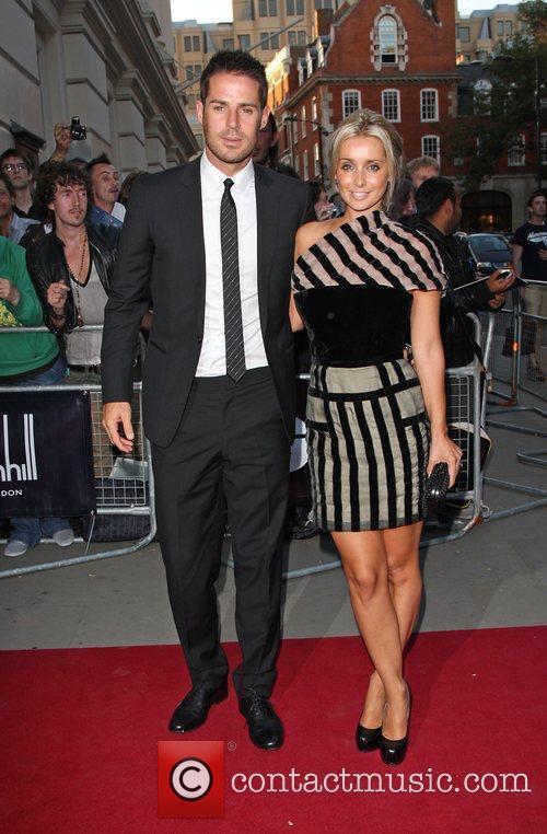 Jamie Redknapp and Louise Redknapp 1