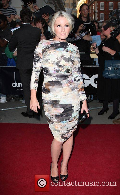 Little Boots GQ Men of the Year awards...