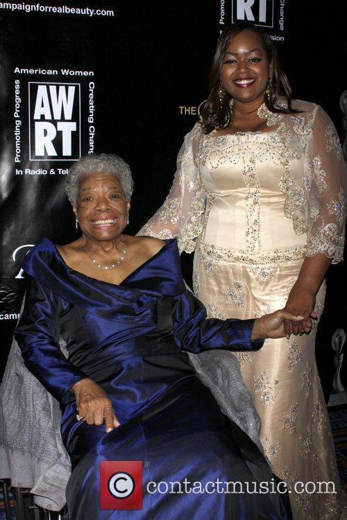 Maya Angelou and Lashell Griffin