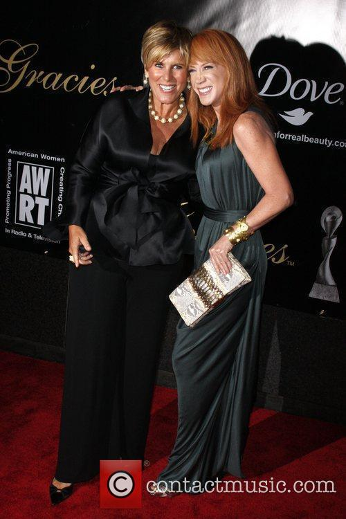 Suze Orman and Kathy Griffin 1