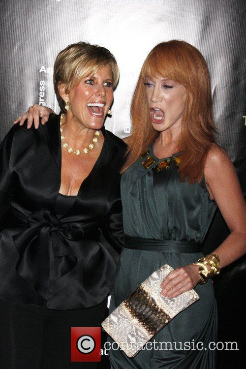 Suze Orman and Kathy Griffin 3