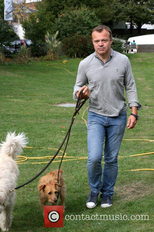 Takes his dogs out for a walk