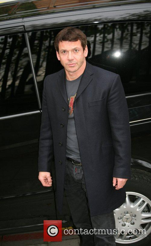 Gray O'Brien outside the ITV Studios London, England