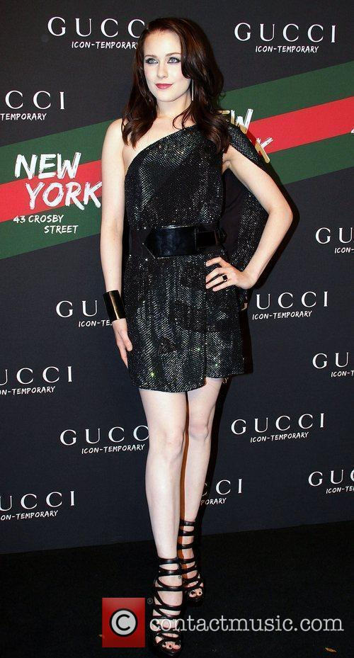 Evan Rachel Wood Launch of the Gucci Icon-Temporary...