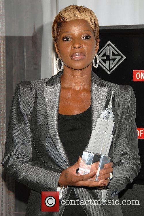 Mary J. Blige hosts the lighting ceremony at...