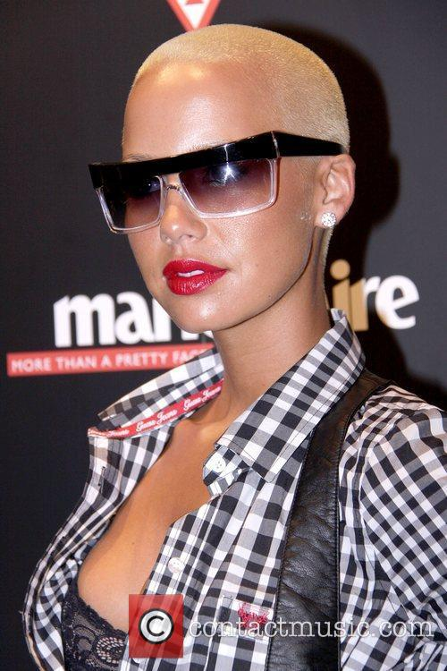 Amber Rose  GUESS Flagship Boutique opening hosted...