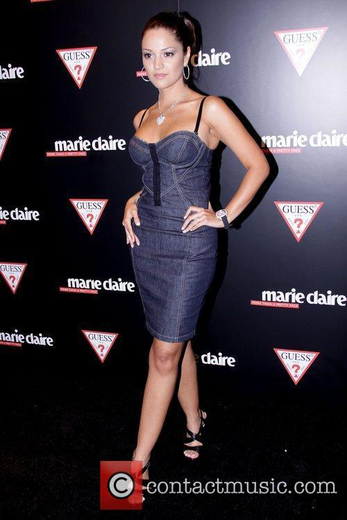 Paula Garces GUESS Flagship Boutique opening hosted by...