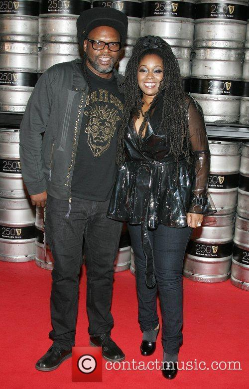 Jazzie B and Caron Wheeler of Soul II...