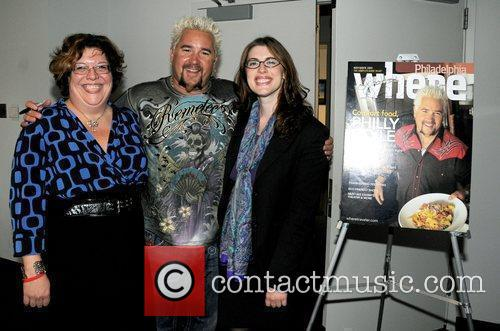 Celebrity chef Guy Fieri unveils his November 2009...