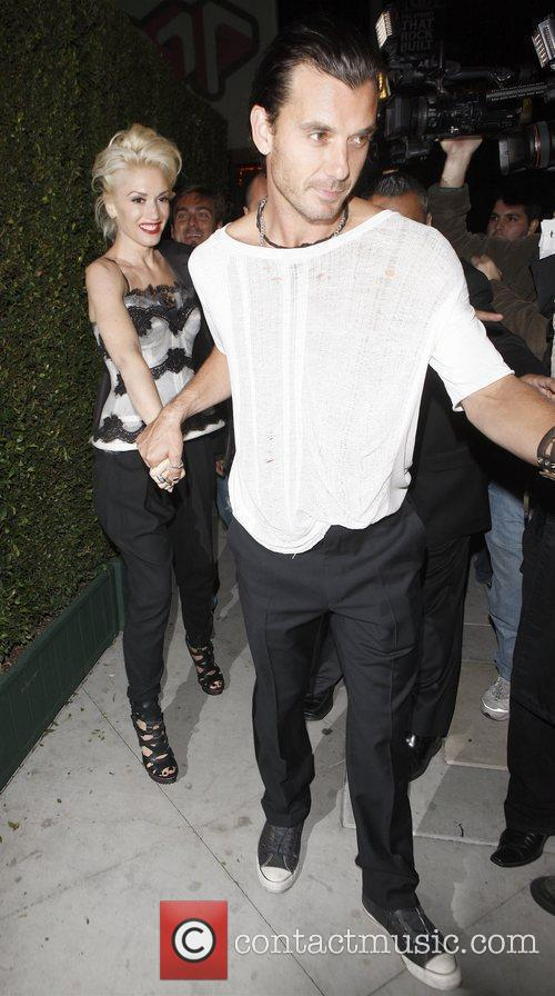 Gwen Stefani and Gavin Rossdale attend MOCA 30th...