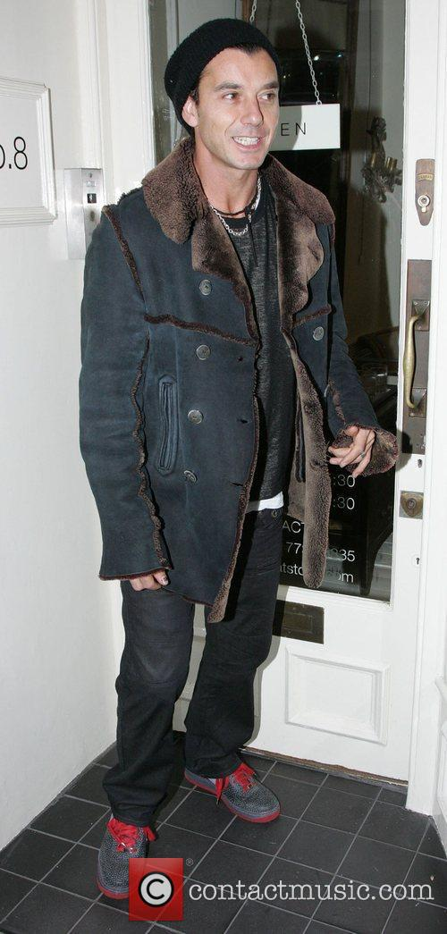 Gavin Rossdale out shopping in Knightsbridge London, England