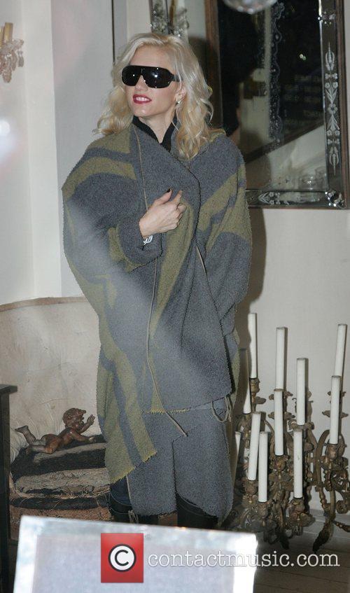 Gwen Stefani out shopping in Knightsbridge London, England