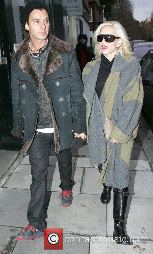 Gwen Stefani and Gavin Rossdale out shopping in...