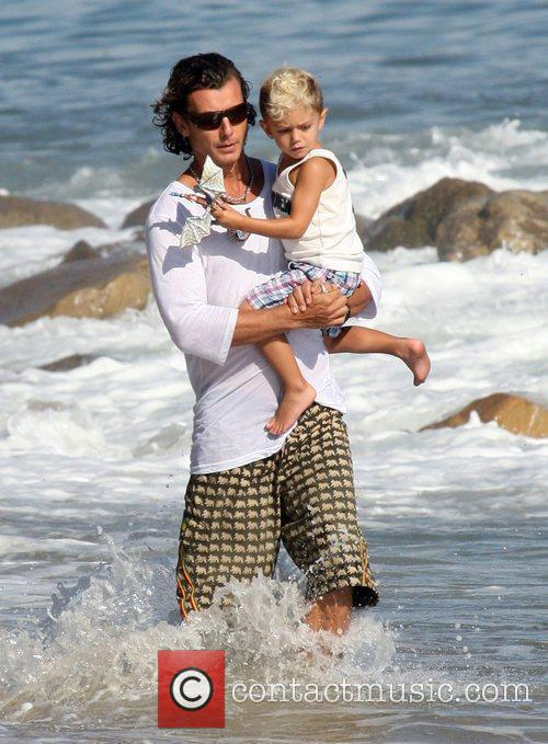 Gavin Rossdale and His Son Kingston 9